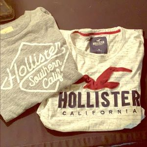 Hollister T-shirts- 2 for 1 Price!